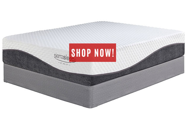 Mygel Hybrid 1300 King Mattress w/ Foundation